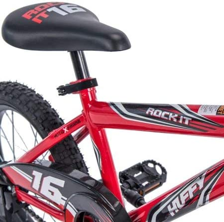 Huffy 16 Rock It EZ Build Bike, Red
