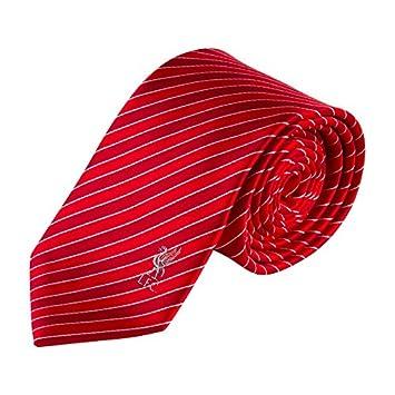 Liverpool FC LFC roja raya corbata Original contraste: Amazon.es ...