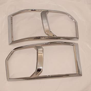 FOG LIGHT COVER CHROME LAMP TRIM FOR TOYOTA COMMUTER HIACE 2011 12 13 14