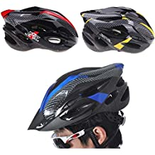 EverTrust(TM) 20 Vents Lightweight Cycling Helmet Portable Casco Bicicleta Sports Safety Bike Bicycle Helmet with Visor Carbon Fiber