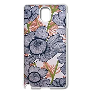 Pink Floral Customized Cover Case for Samsung Galaxy Note 3 N9000,custom phone case ygtg570289