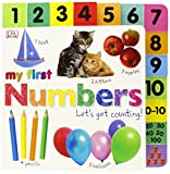 Best DK PUBLISHING Books For New Babies - Tabbed Board Books: My First Numbers: Let's Get Review