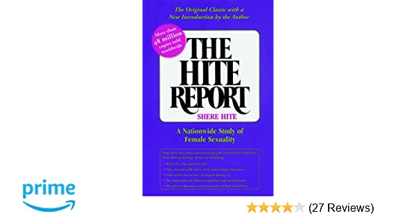 The hite report a nationwide study of female sexuality pdf
