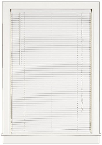 30 Inch Window - Achim Home Furnishings Deluxe Sundown 1-Inch Blind, 30-Inch by 64-Inch, White