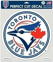 Wincraft MLB Toronto Blue Jays 16744013 Perfect Cut Color Decal, 8-Inchx8-Inch, Black