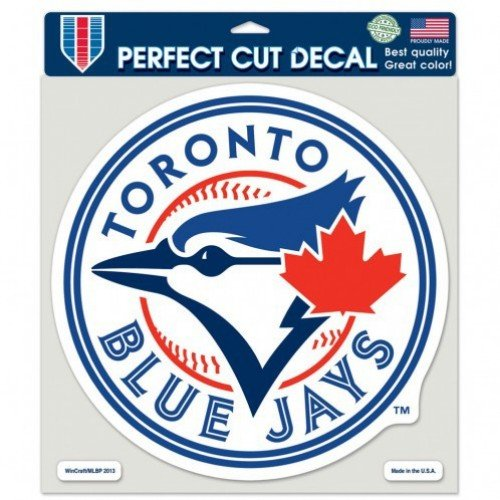 Wincraft MLB Toronto Blue Jays 16744013 Perfect Cut Color Decal, 8
