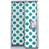 LockerLookz Locker Wallpaper - Blue Polka Dot - 24 pieces
