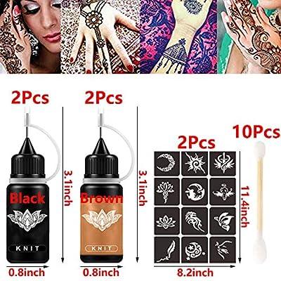 India Henna Tattoo Ink Kit