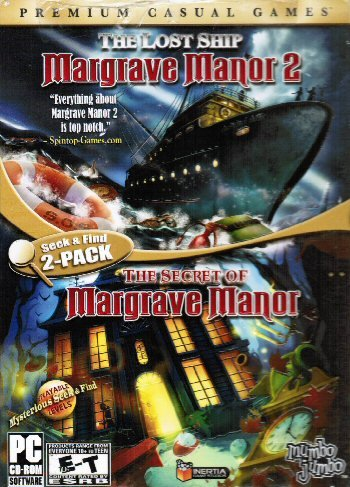 Seek & Find 2 Pack! Margrave Manor 2: The Lost Ship / The Secret Of Margrave Manor