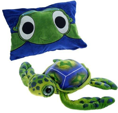 Peek A-boo Turtle - Fiesta Peek-a-Boo Plush 18'' Big-Eyed Turtle