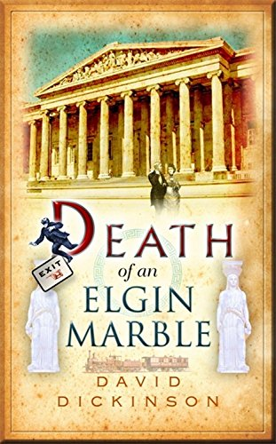 book cover of Death of an Elgin Marble