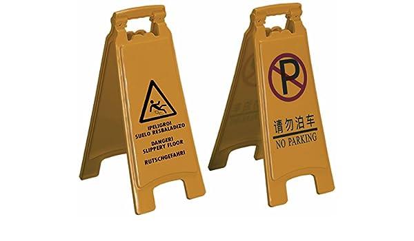 Q-Connect - Cartel plastico señalizacion suelo resbaladizo ...
