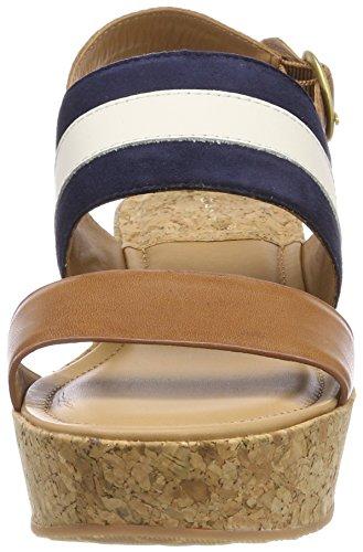Signore Gant Sandali Plateau Judith Multicolore (blu / Marrone / Crema)