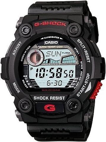 G7900 200M Water Resistant G-Shock Rescue Digital Sports Watch - Black (Mens Digital Sports Watch G Shock)