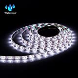abtong Led Strip Lights Battery Operated USB Plug in TV Backlight 2 in 1, Led Light Strip with RF Wireless Remote RGB Led Strip Rope Lights Waterproof Led Strip Lighting-2M/6.56f