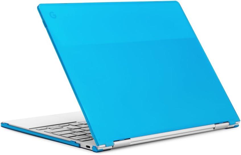 "mCover Hard Shell Case for 12.3"" Google Pixelbook Chromebook (NOT Compatible Older Model Released Before 2017) laptops (Aqua)"
