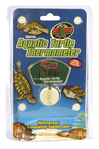 Zoo Med Digital Aquatic Turtle Thermometer by Zoo Med