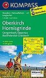 Oberkirch - Hornisgrinde - Gengenbach - Oppenau - Bad Peterstal-Griesbach: Wanderkarte mit Aktiv Guide, Radwegen und Loipen. GPS-genau. 1:25000 (KOMPASS-Wanderkarten, Band 877)