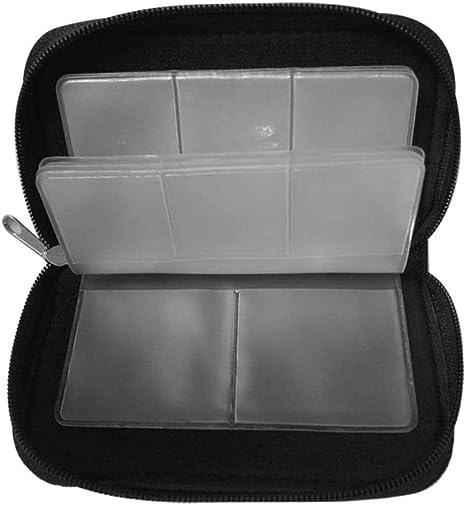 Donpow Estuche para Tarjetas de Memoria, Bolsa de 8 páginas y 22 Ranuras para Tarjetas SDHC SD MMC CF Micro SD Protector de Almacenamiento para Almacenamiento y Viajes: Amazon.es: Electrónica