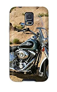 Top Quality Rugged Harley-davidson Heritage Softail Case Cover For Galaxy S5