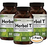 Cheap Herbal T Natural Testosterone Booster: Increase Energy, Endurance, & Libido. (3-Pack)