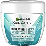 Facial Mask Garnier - Garnier SkinActive 3-in-1 Face Moisturizer with Aloe, For Dry Skin, 6.75 fl. oz.