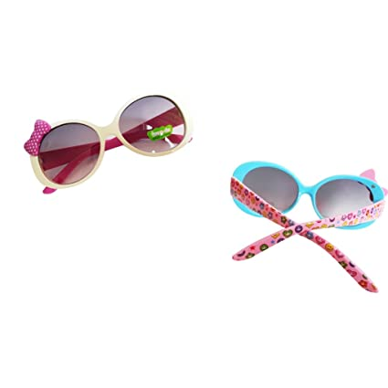 851ca3299a B Blesiya 2pcs Gafas de Sol Anteojos de Moda de Bebés Productos de Boda  Cumpleaños Fiesta