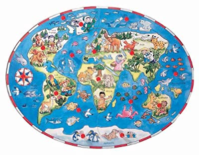 Beleduc Children Around The World 16-piece Wood Puzzle by Beleduc