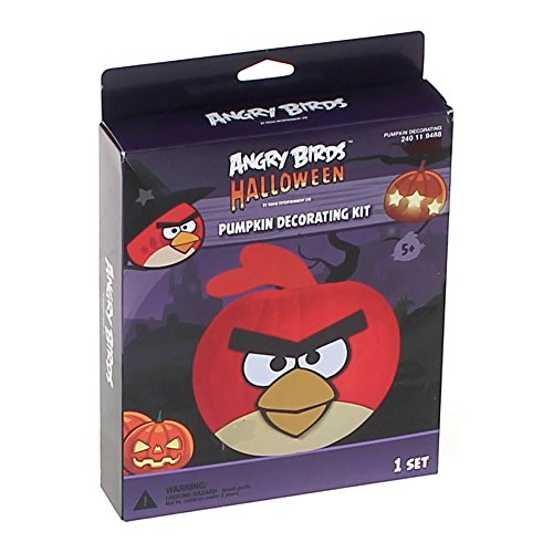 (Angry Birds Pumpkin Decorating)
