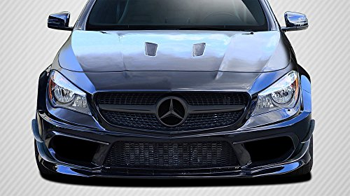 Carbon Creations Replacement for 2014-2015 Mercedes CLA Class Black Series Look Wide Body Front Bumper Accessories - 6 Piece by Carbon Creations (Image #9)