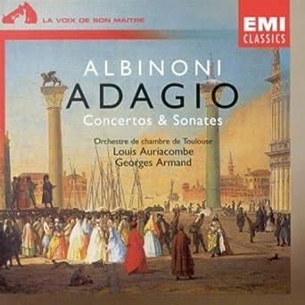 Albinoni Adagio Conctetos Sonatas Albinoni Albinoni Tomaso Amazon Ca Music