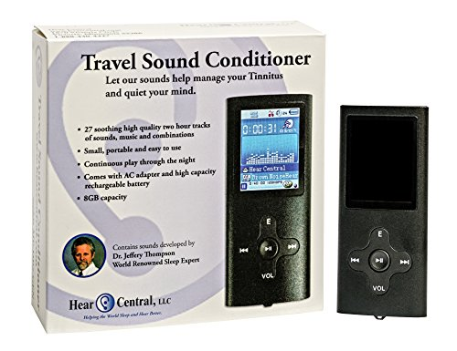 Tinnitus Sound Conditioner (MP3) w/ 27 Sleep Inducing and Tinnitus Masking Tracks