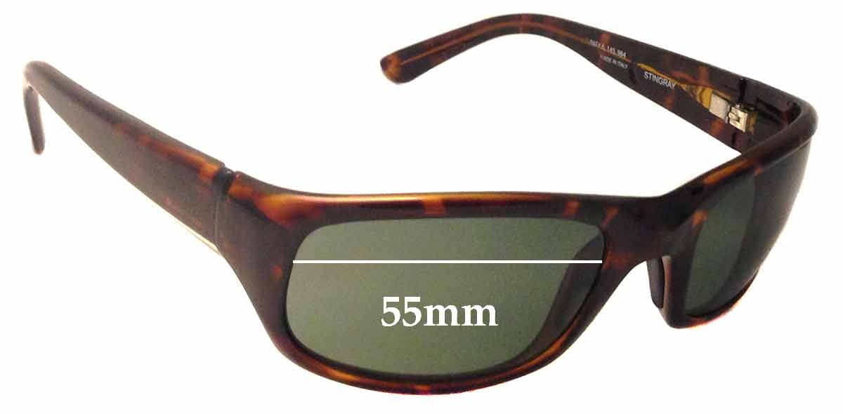SFX Replacement Sunglass Lenses fits Maui Jim MJ103 Stingray 55mm Wide
