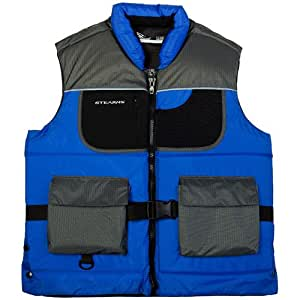Stearns floatation fishing vest life jacket for Fishing vest amazon