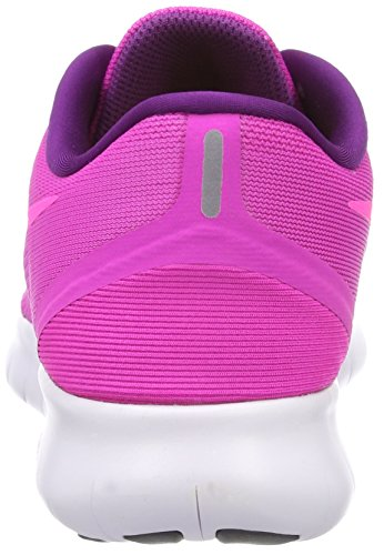 Pink Rn Zapatillas de Rosa Wmns Fire Blast Glow Gimnasia Pink Blue Mujer para Free Nike 1twvq