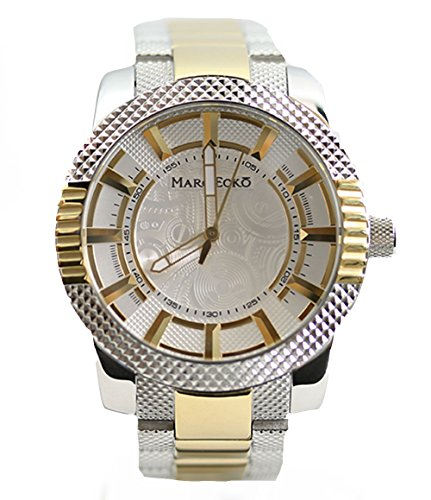 Marc Ecko Men's M15039G2 The Point Analog Display Japanese Quartz Two Tone Watch