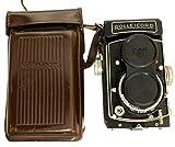 Global Art World Antique Classic Rolleicord Vb Type I, Vintage TLR 6 x 6 Cameras, Lens Schneider Xenar 1:3.5/75 AC 09
