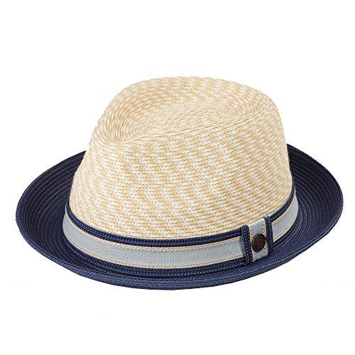 Dasmarca Summer Foldable Packable Multicoloured Trilby Hat - Adrian Corn XL 02e58ec5e5c5
