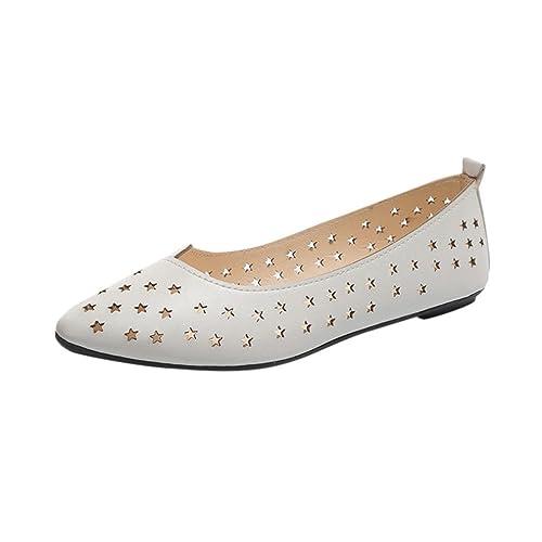 Mocasines para Mujer, QinMM Zapatillas Respirable Sandalias Cómodos Transpirables Zapatos de Verano Merceditas: Amazon.es: Zapatos y complementos