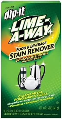 Food /& Beverage Stain Remover Powder 5 oz DIP-IT LIME-A-WAY