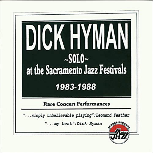 - Solo At The Sacramento Jazz Festivals 1983-1988