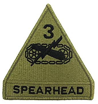 3rd Armored Division MULTICAM Patch
