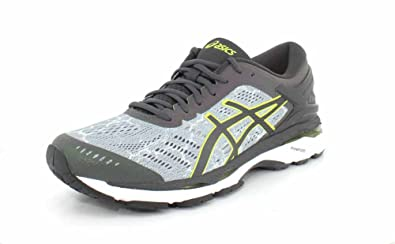 ASICS Men s Gel-Kayano 24 Lite-Show Mid Grey Dark Grey Safety 7d19af883c