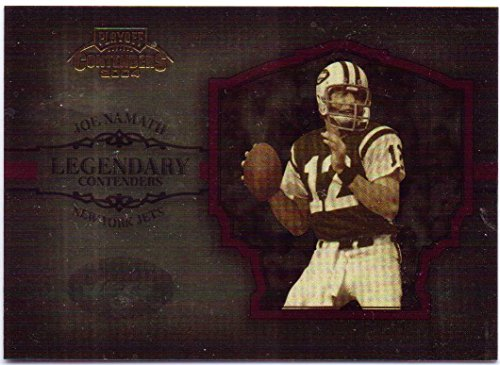 Joe Namath 2004 Playoff Contenders Legendary Contenders Red #LC-6 - 587/750 - New York Jets
