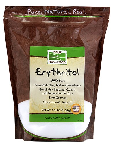 NOW Foods Erythritol,2.5-Pound from NOW Foods