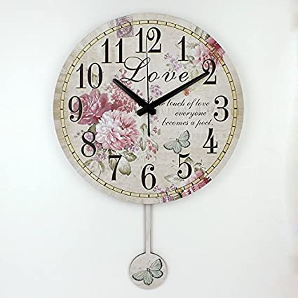 Home Decoration Large Wall Clocks Silent Wall Clock Vintage Home Decor Fashion Big Wall Watches Relojes