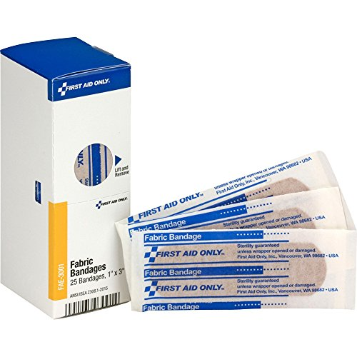 - First Aid Only, Inc FAE3001 Fabric Bandages, 1