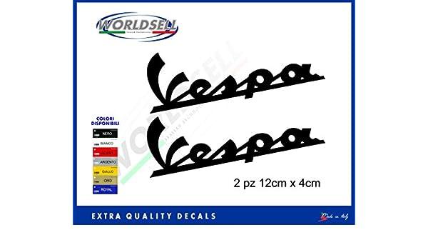 Pegatinas Sticker Banderas Italia Piaggio Vespa Flag GTS PX Primavera Sprint 946 negro: Amazon.es: Juguetes y juegos