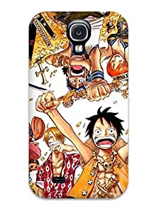 Excellent Galaxy S4 Case Tpu Cover Back Skin Protector One Piece Mirror Anime Pict
