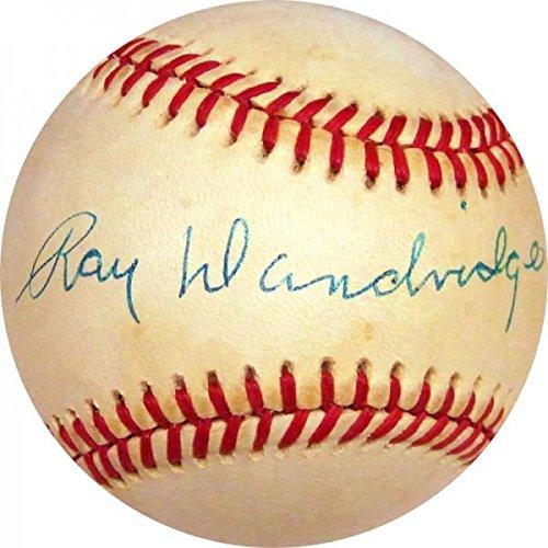 Ray Dandridge Autographed Baseball (JSA) - Autographed Baseballs